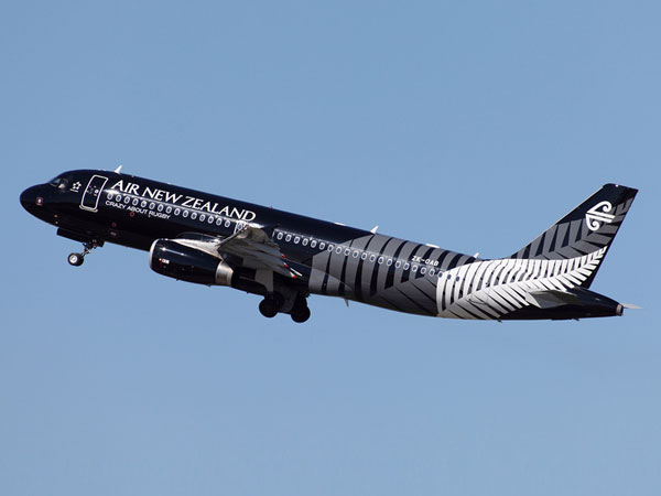 Air New Zealand flights