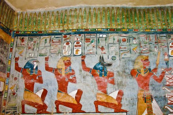 Egypt hieroglyphics