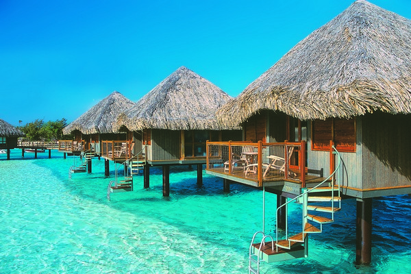 Sanctuaries And Spas On Tahiti Holidays Flight Centre Nz Photo Gallery Cook Islands Overwater Bungalow