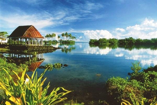Samoa lagoon