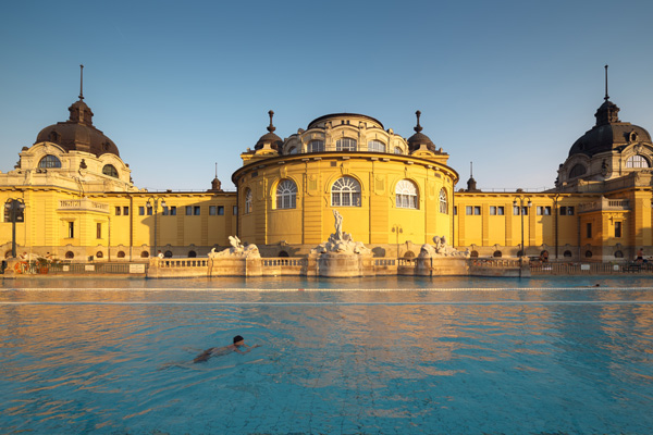 Budapest swimming pool