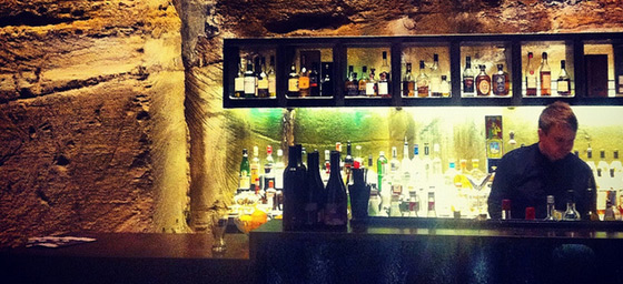 The basement bar at MONA in Hobart | by Flight Centre's Anna Howard
