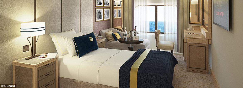 Cunard Solo Cabin