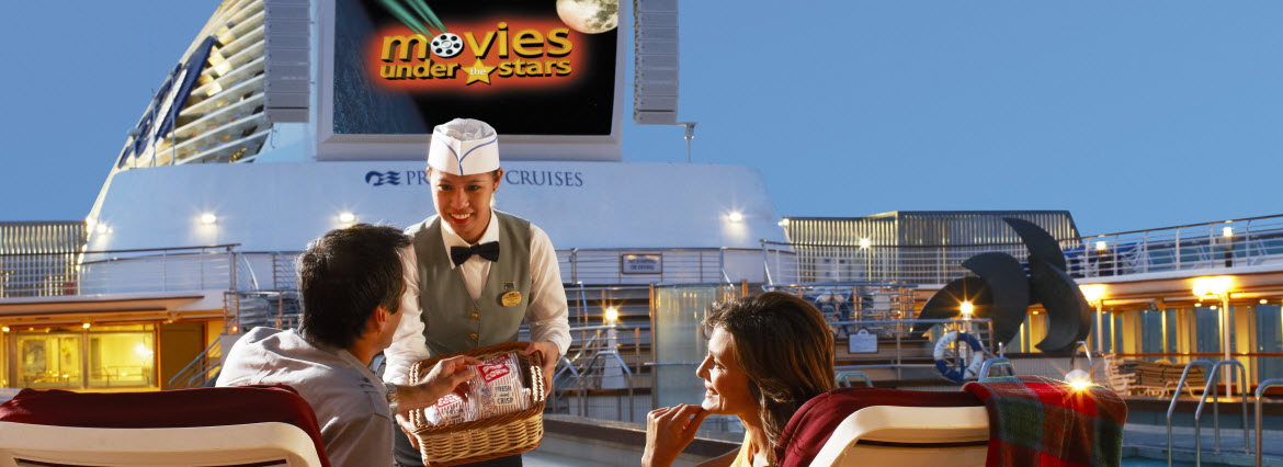 Sun Princess Movies Under the Stars