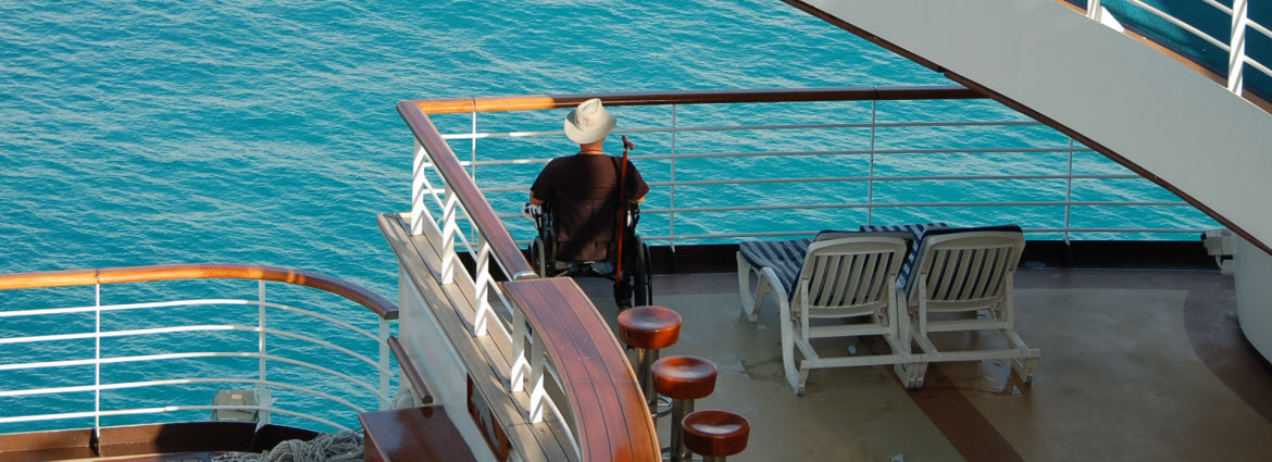 Accessibility on a cruise