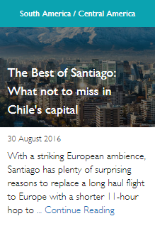 The Best of Santiago: What not to miss in Chile's capital
