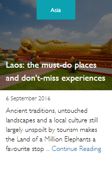 Laos: the must-do places and don't-miss experiences