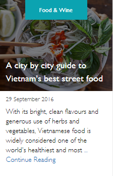 A city by city guide to Vietnam's best street food