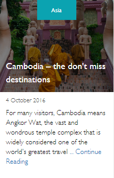 Cambodia – the don't miss destinations