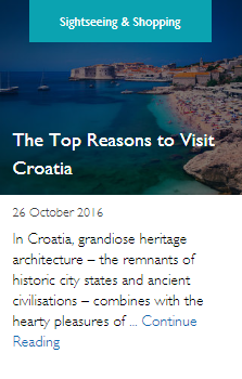 The Top Reasons to Visit Croatia