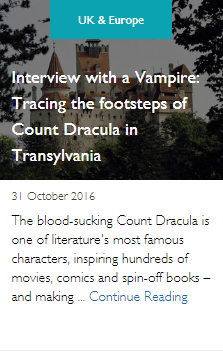Interview with a Vampire: Tracing the footsteps of Count Dracula in Transylvania