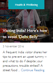 Visiting India? Here's how to avoid 'Delhi Belly'