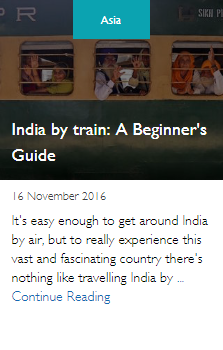 India by train: A Beginner's Guide