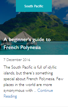 A beginner's guide to French Polynesia