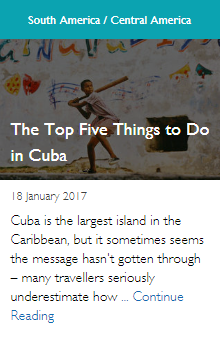 The Top Five Things to Do in Cuba
