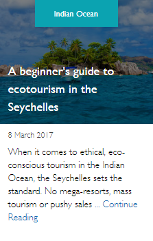 A beginner's guide to ecotourism in the Seychelles