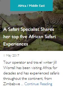 A Safari Specialist Shares her top five African Safari Experiences