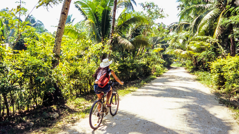 Once in your destination choose a green mode of transportation and explore the local area by bike