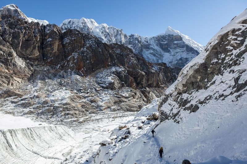 The Himalayas mountain range