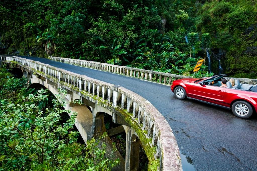 Driving the Hana Highway