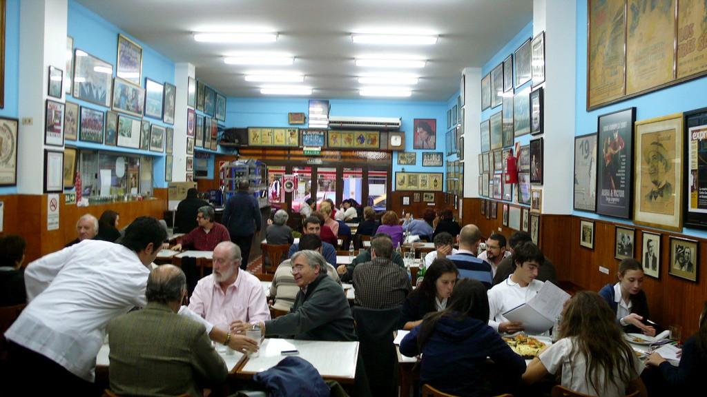 El Cuarito pizzeria. Photo: Paloma Baytelman.