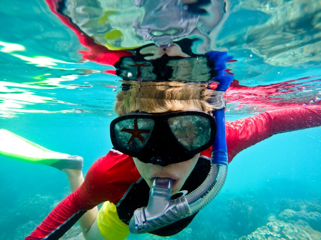 Snorkeling on the Great Barrier Reef- Image Credit: Tourism Events Queensland