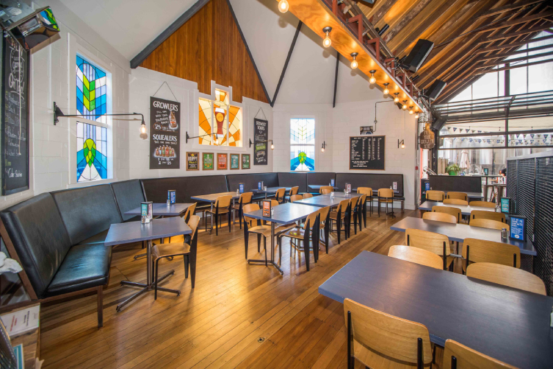 The Good George Dining Hall in Hamilton