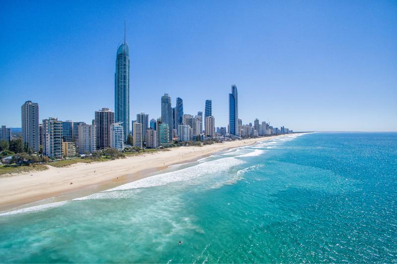 The Q1 Skyscraper Building in Surfers Paradise