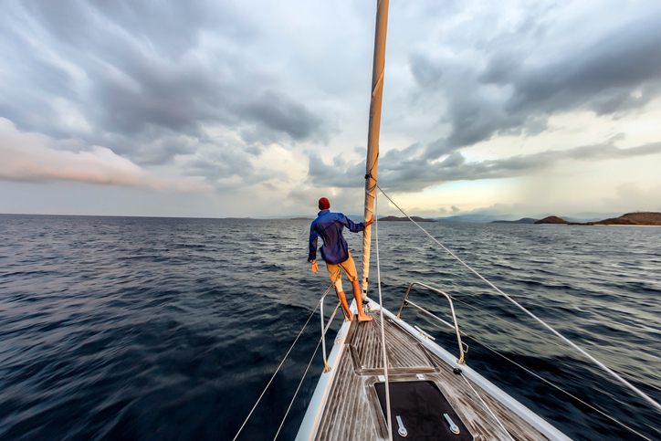 """Sail around the world with """"The Boat Life Podcast"""""""
