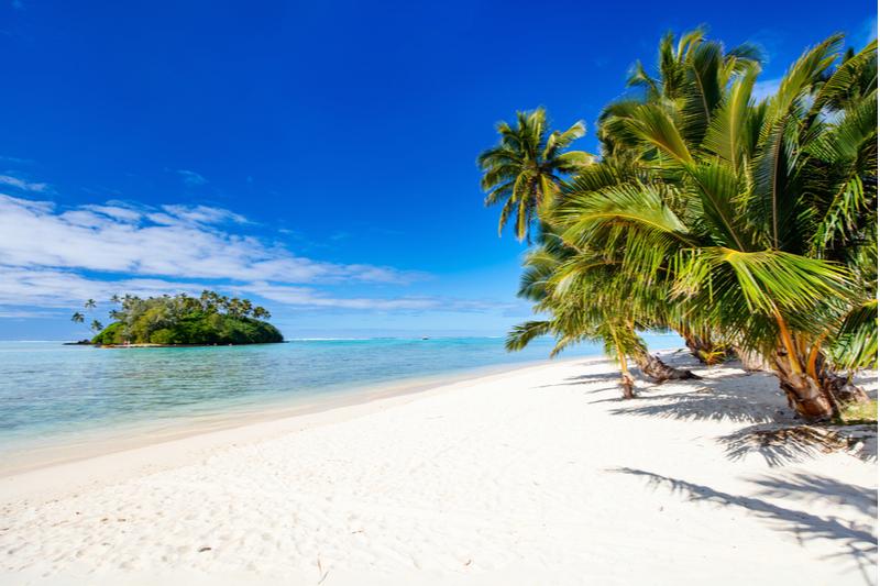 Stunning Muri Beach