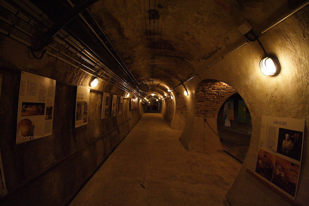 Sewer Museum. Credit: Photo by user: ignis / Wikimedia Commons / CC BY-SA 3.0
