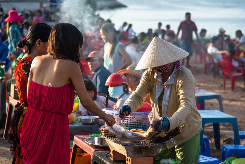Night market at Phu Quoc