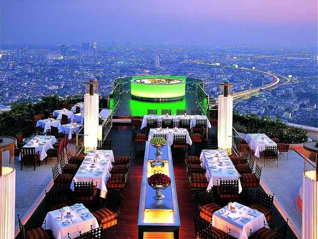 Sky Bar at Lebua State Tower. Image: supplied.
