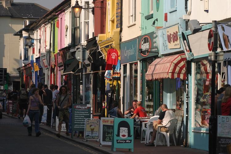 North Laine. Credit: Visit England/Visit Brighton.