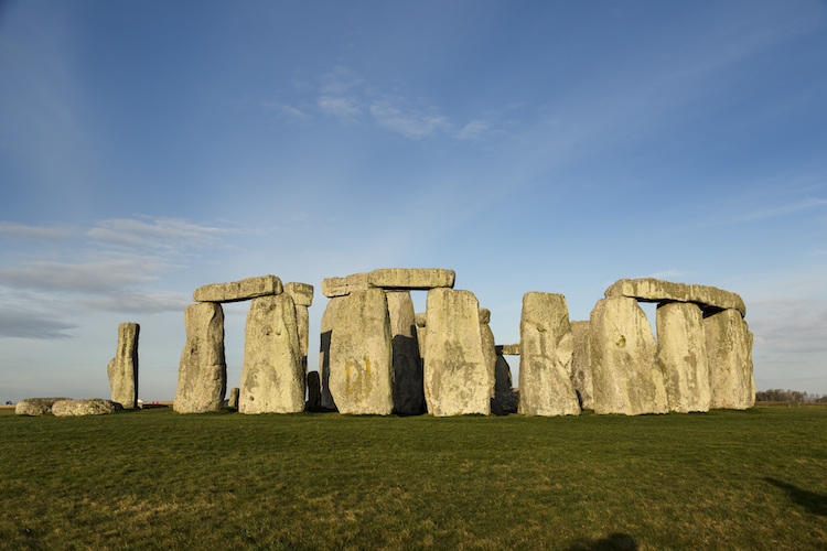 Stonehenge, Wiltshire. Photo: Visit England/English Heritage/Iain Lewis.