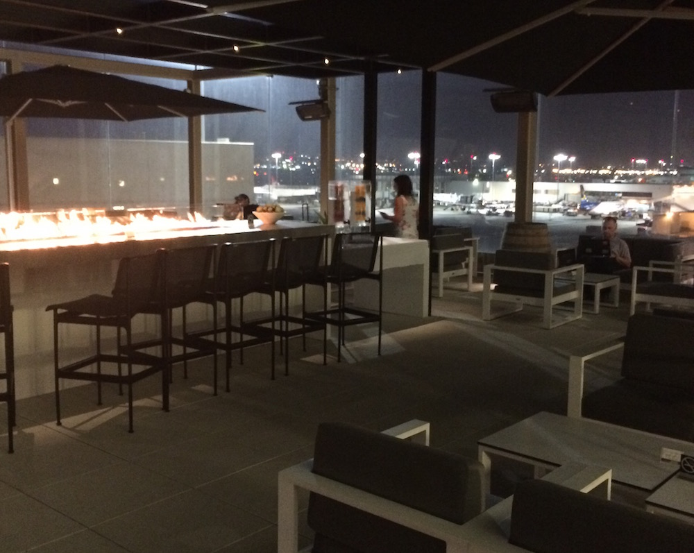 Star Alliance lounge at LAX. Photo by Greg Bruce.