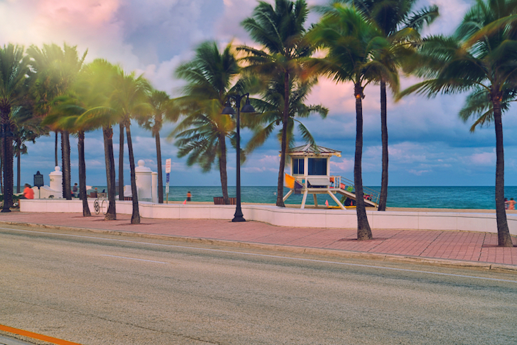 Fort Lauderdale Beach, United States. Credit: iStock.com.