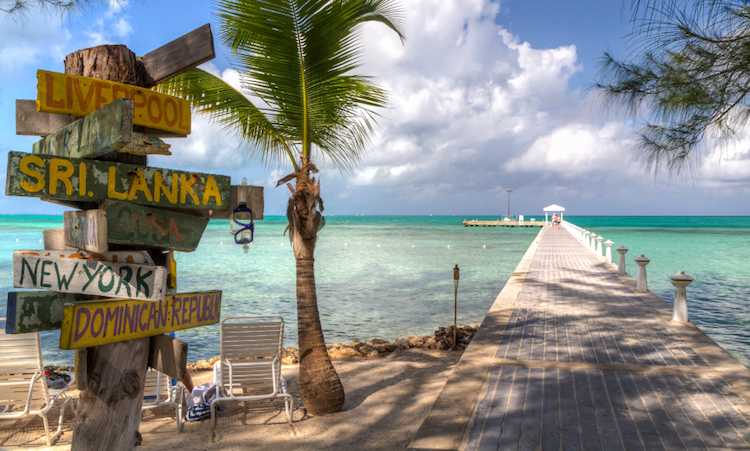 Rum Point, Grand Cayman. Credit: iStock.com.