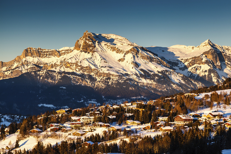 Megève, the French Alps. Credit: iStock.com/Anshar73.