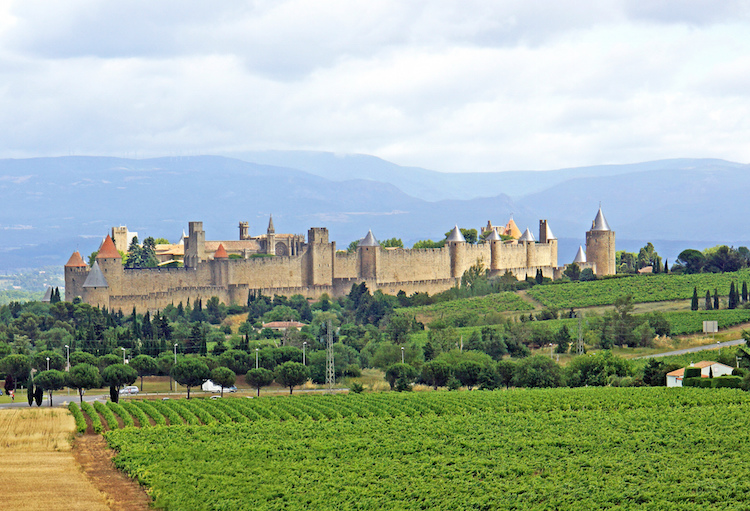 Carcassonne. Credit Flickr.com/Dennis Jarvis.