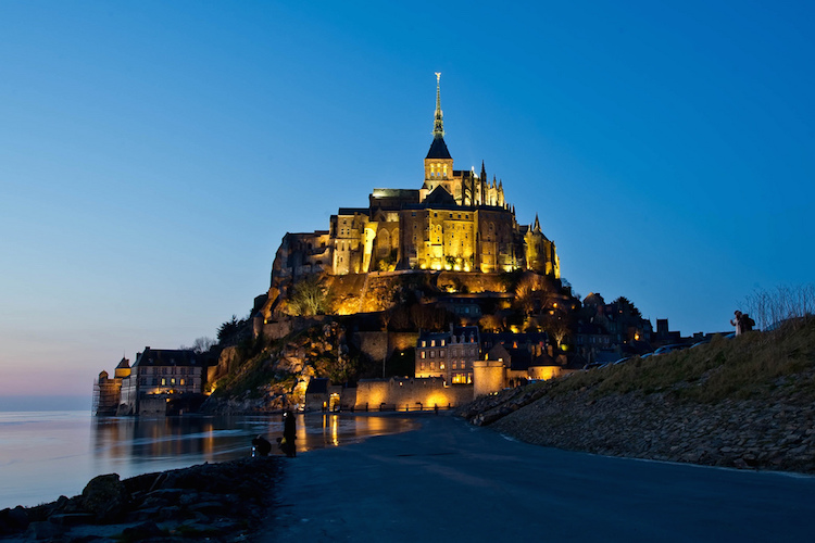 Mont Saint-Michel, Normandy. Credit: Flickr.com/Jesper Krogh.
