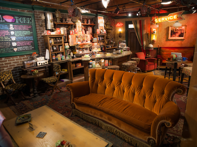 The Central Perk set from Friends at Warner Brothers Studios. Credit: William Warby/Flickr.com.
