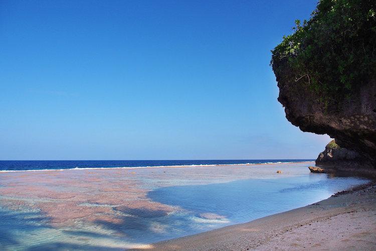 Tamakautoga Beach. Credit: Alexia Santamaria.