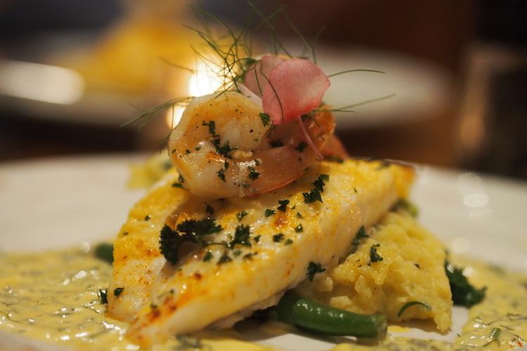 Trumpeter fish at Hilli Restaurant. Credit: Alexia Santamaria.