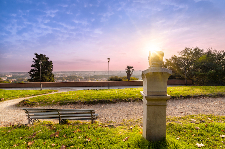 The Janiculum Hill. Credit: iStock.com.