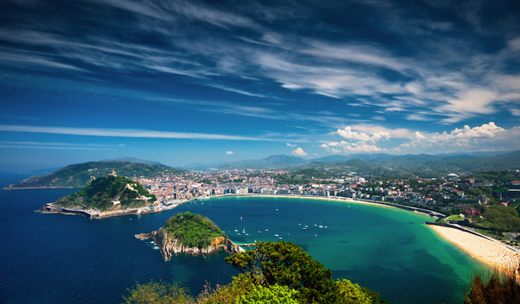 San Sebastian, northern Spain. Credit: iStock.com.