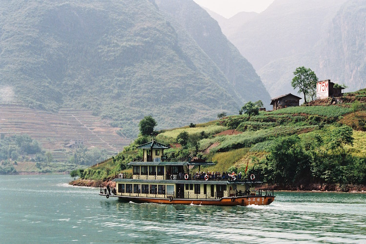 The Yangtze River. Credit: Carol Atkinson