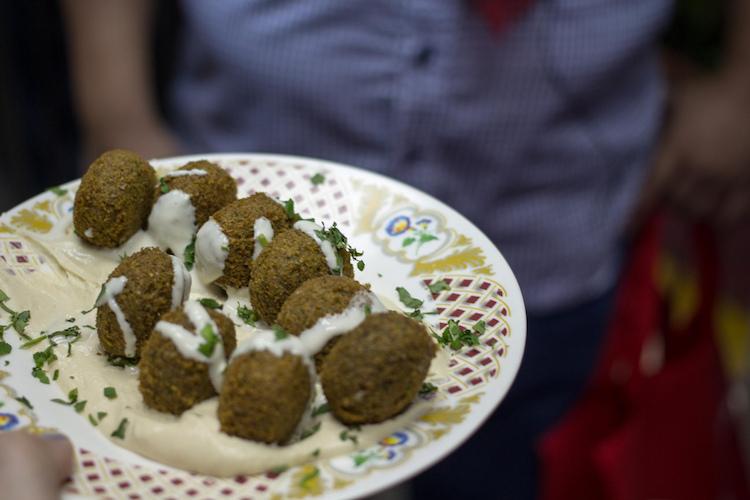 Felafel at Qwaider Al Nabulsi. Credit: Krista/Flickr.com