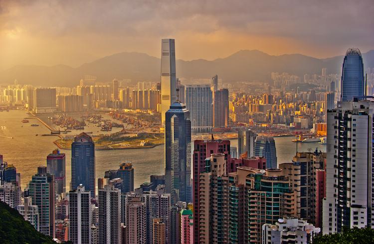 Hong Kong sunset. Credit: Mike Behnken/Flickr.com.