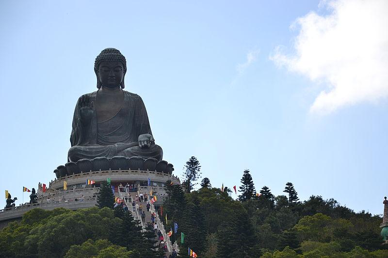 The Big Buddha. Credit: WikiCommons